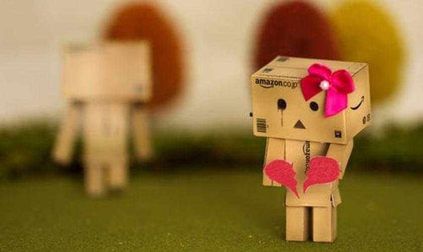 Fim de namoro _ imagem ilustrativa