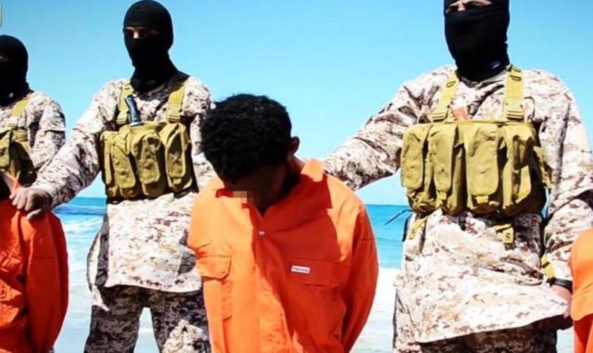 Estado Islâmico _ cristãos etíopes