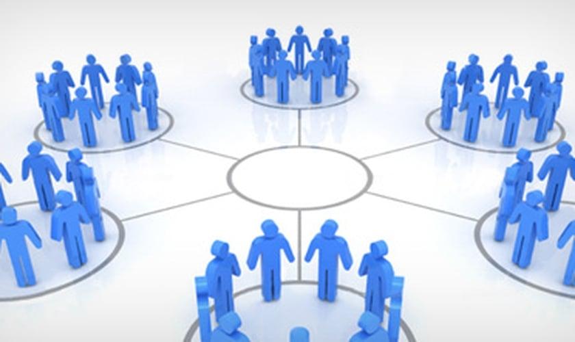 Grupos divididos _ imagem ilustrativa