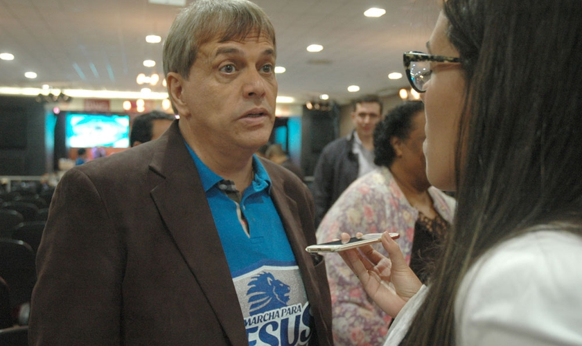Estevam Hernandes em entrevista exclusiva ao Guiame.