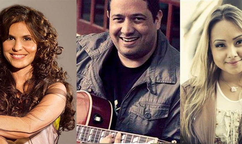 Aline Barros, Fernandinho e Bruna Karla