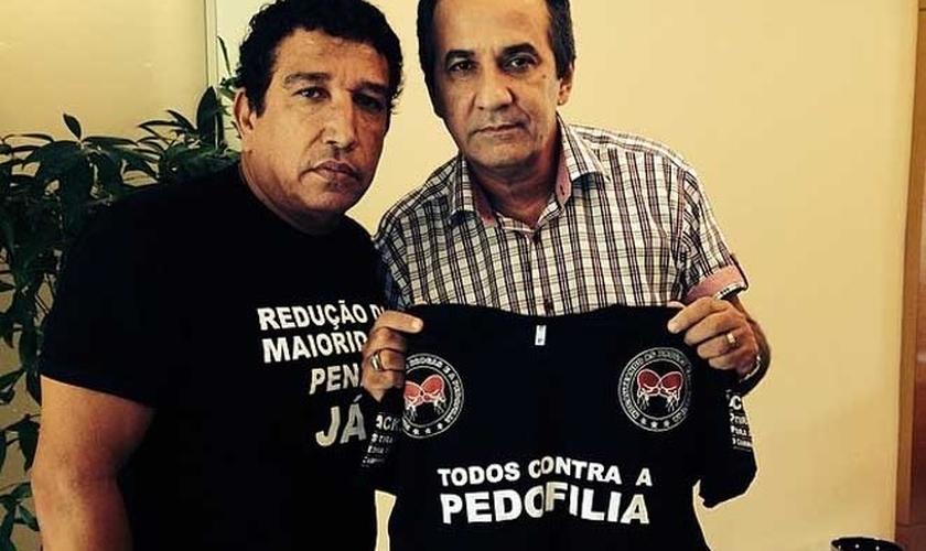Magno Malta (PR-ES) e Silas Malafaia têm buscado unir forças para combater projetos que tentam ferir os Direitos da Família