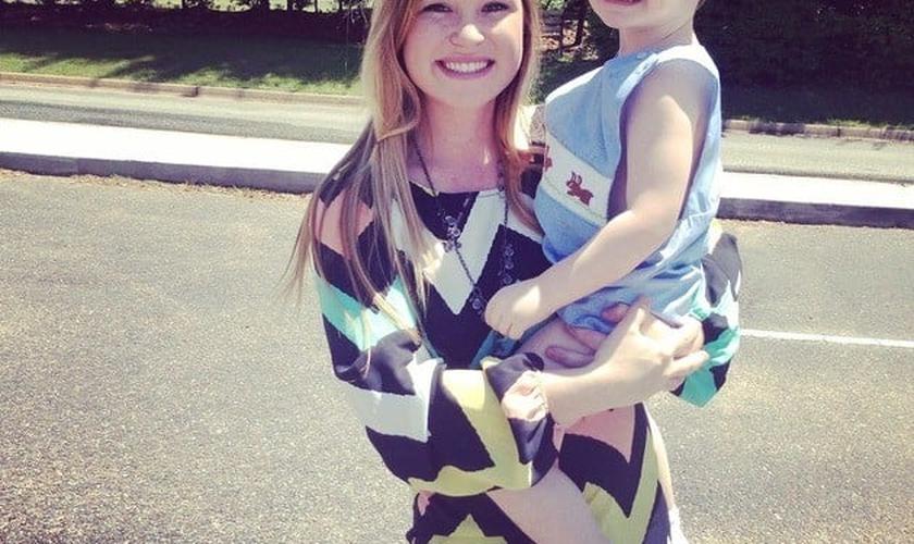 Josiah e a mãe