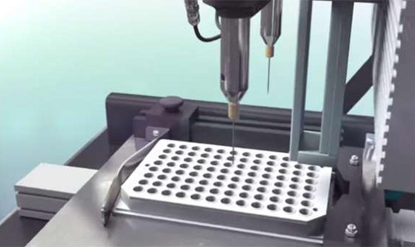Pele humana com impressora 3D