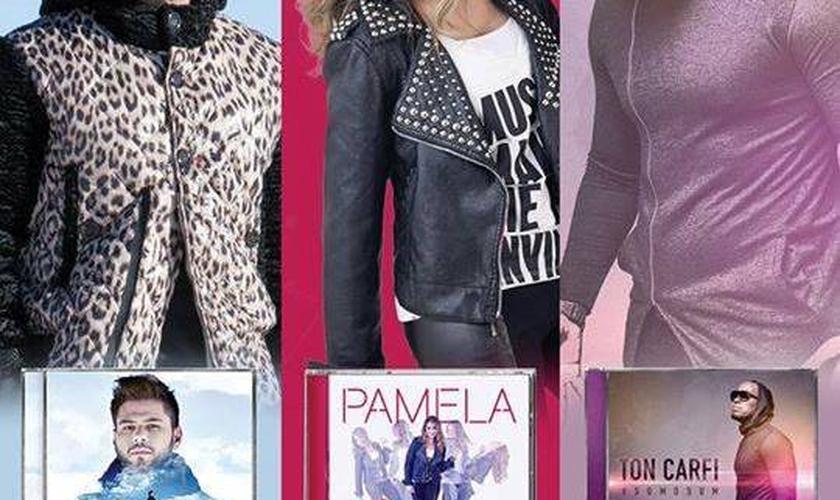 O Pocket Show realizado pela Som Livre tem como objetivo divulgar os novos trabalhos destes três cantores que integram o seu cast gospel.