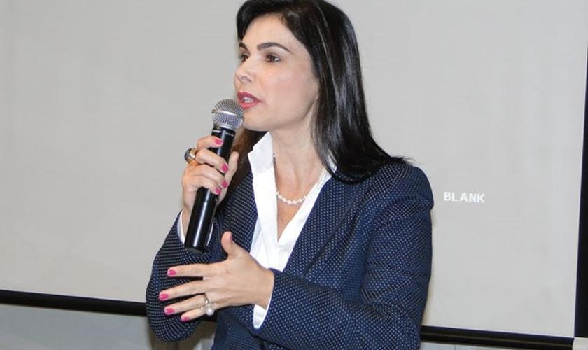 Leonice da Paz foi vereadora em Campinas (SP) e continua batalhando pelos direitos da mulher e contra a pedofilia.