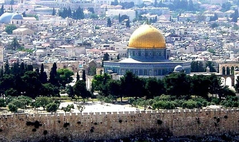 Mesquita de al-Aqsa, no chamado 'Monte do Templo', em Jerusalém