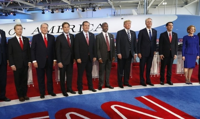 20 candidatos se apresentaram para a eleição à presidência dos Estados Unidos, que acontecerá em novembro de 2016 (Foto: Reuters)