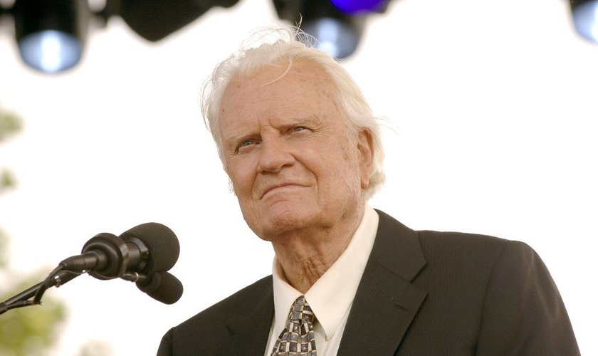 Hoje, aos 97 anos, o evangelista vive em uma casa de montanha em Montreat, na Carolina do Norte. (Foto: Reprodução)