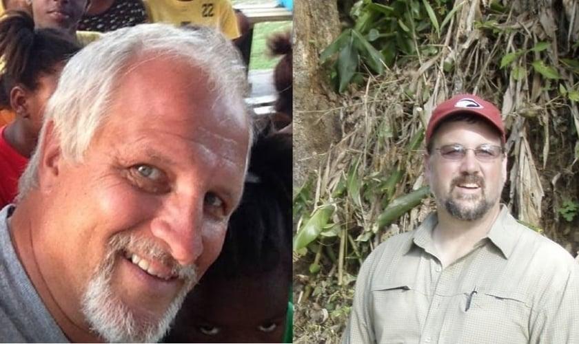 Harold Nichols, 53 anos (à esquerda) e Randy Hentzel, 48 anos (à direita) trabalhavam como missionários na Jamaica e foram encontrado mortos no último final de semana. (Imagem: Facebook)