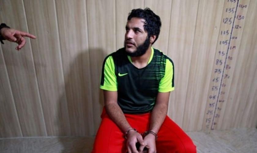 Amar Hussein foi terrorista do Estado Islâmico e capturado recentemente no Iraque. (Foto: Reuters)