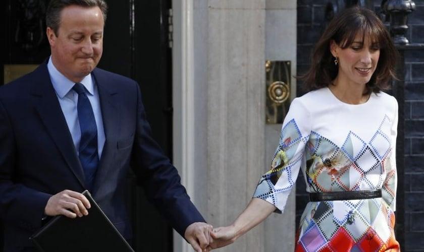 Ela falou sobre a morte de Ivan em 2009, um ano antes de seu marido se tornar primeiro-ministro britânico. (Foto: Reuters).