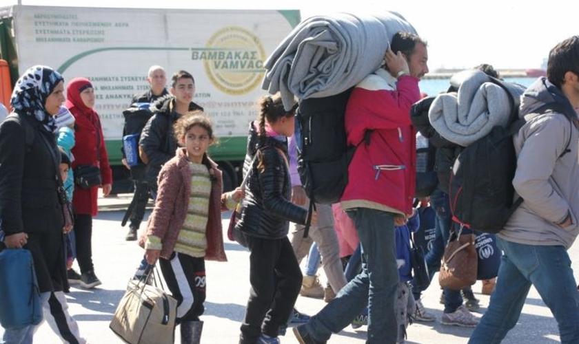 O esquema é inspirado no patrocínio privado canadense que acolheu cerca de 300 mil refugiados. (Foto: Church Response for Refugees).