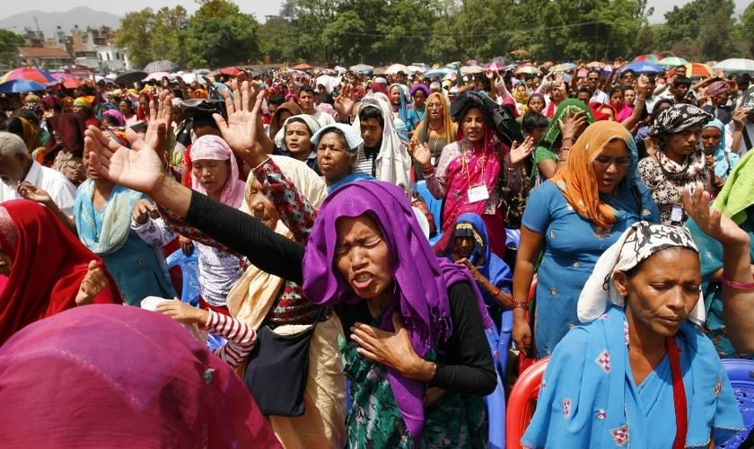 A Índia está classificada como o 15º pior país para um crente morar. (Foto: Reuters).