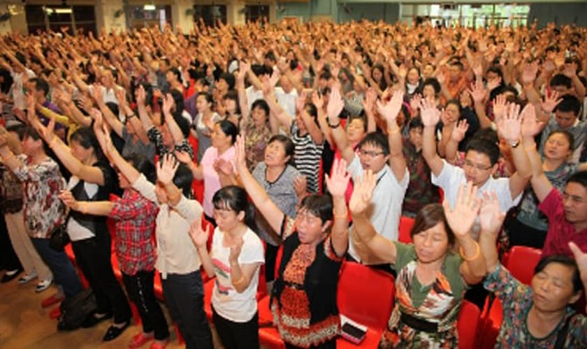 Cristãos chineses. (Foto: Sino Project)
