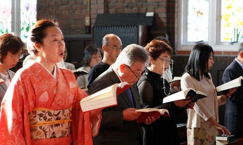 Cristãos durante reunião na Comunhão Anglicana no Japão. (Foto: The Nippon Sei Ko Kai)