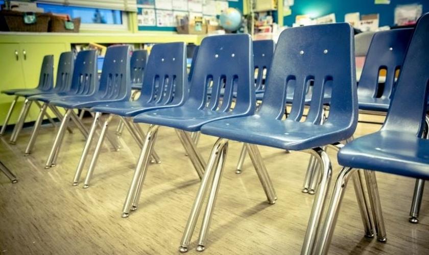 A divisão escolar veio a conhecer o fato, depois de receber um relatório anônimo. (Foto: Reprodução).