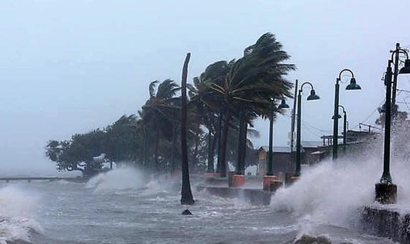Furacao Maria atingiu Porto Rico na última quarta-feira. (Foto: Reuters)
