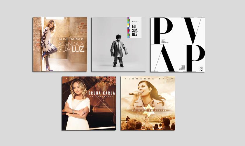 A categoria 33 é dedicada ao Melhor Álbum de Música Cristã em Língua Portuguesa. (Foto: Divulgação).