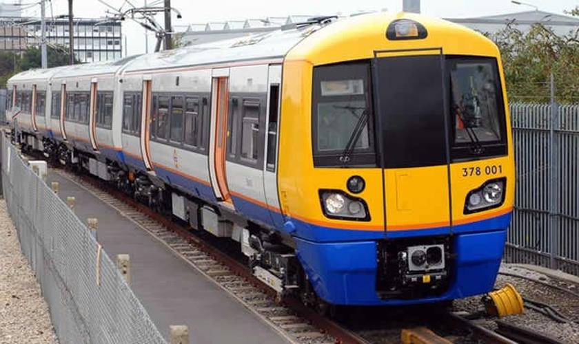 Trem de Londres. (Foto: Visit London)