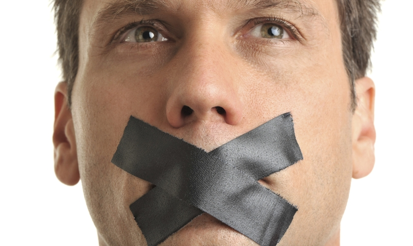 Silêncio. (Foto: huffingtonpost.com)