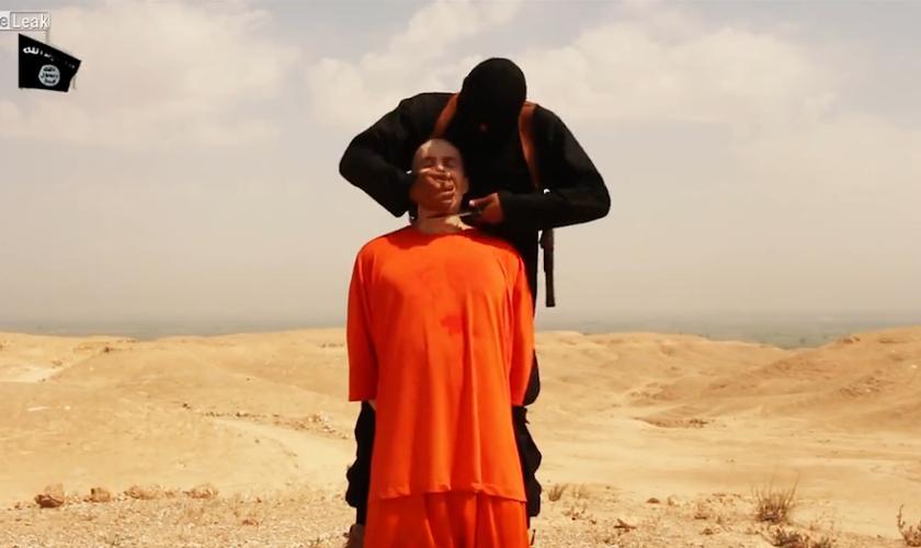 Imagem ilustrativa. Terroristas do Estado Islâmico foram impedidos de degolar uma família.(Foto: Reprodução)