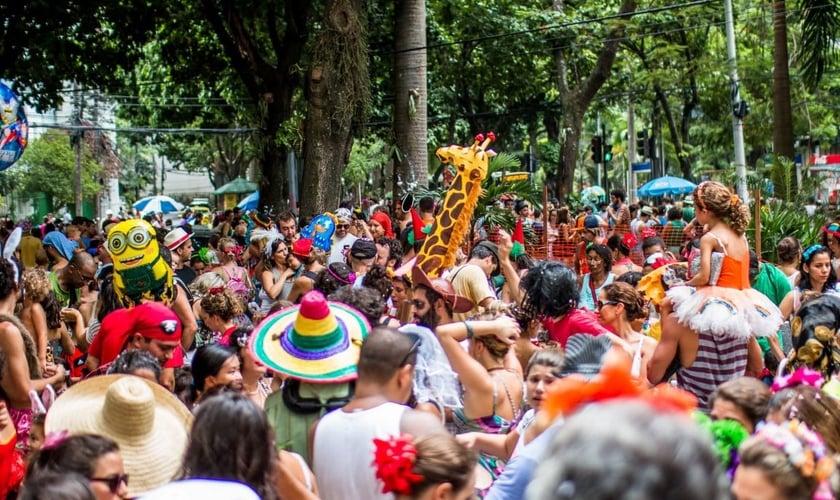 Imagem ilustrativa. Bloco de rua realizado durante o Carnaval do Rio de Janeiro. (Foto: Pedro Serra)