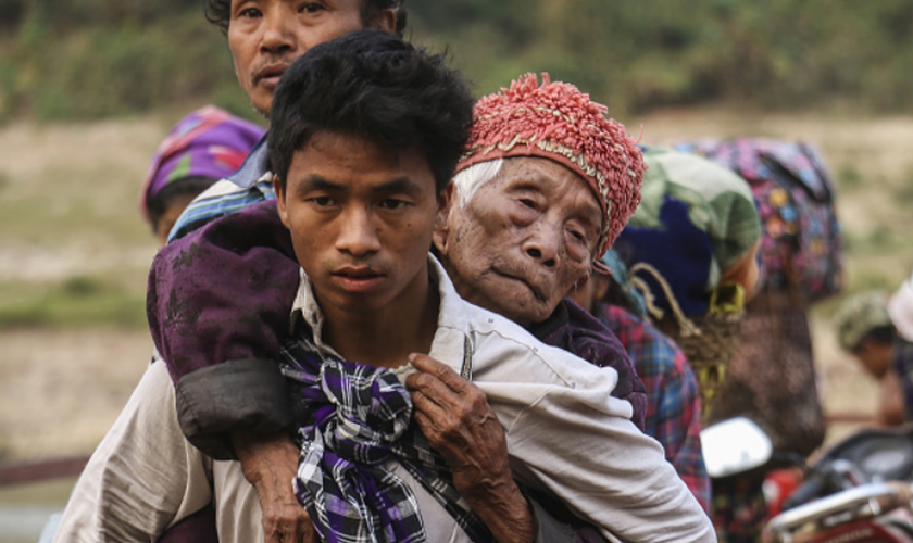Milhares de vidas foram perdidas e pelo menos 120 mil pessoas foram deslocadas nas décadas de conflito. (Foto: Getty Images).