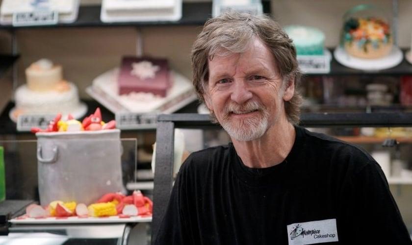 Jack Philips era dono da confeitaria 'Masterpiece', no Colorado. (Foto: National Review)