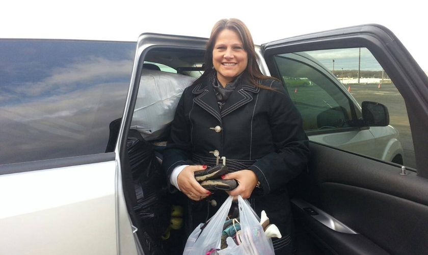 Melissa Reams passou por uma cirurgia de retirada dos rins após saber da necessidade de uma desconhecida. (Foto: Arquivo pessoal)