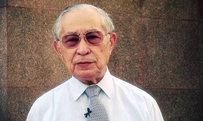 O pastor Antonio Gilberto da Silva faleceu nesta segunda-feira (30), aos 91 anos. Ele morava na cidade do Rio de Janeiro. (Foto: Reprodução).