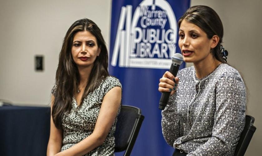 Maryam Rostampour e Marziyeh Amirizadeh foram presas e torturadas por 259 dias no Irã. (Foto: Daily News)