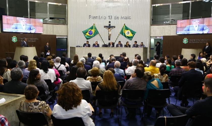 O caso foi comentado na Assembleia Legislativa do Ceará. (Foto: ALCE)