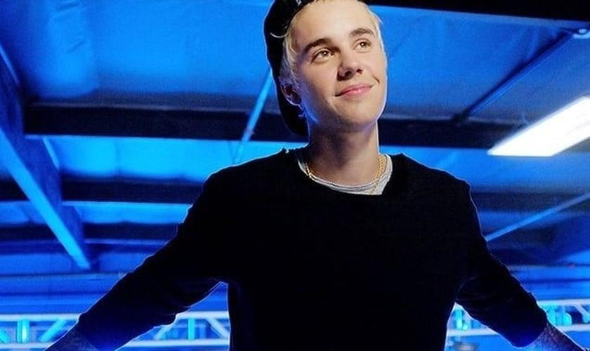 O cantor canadense Justin Bieber. (Foto: Reprodução/Twitter)