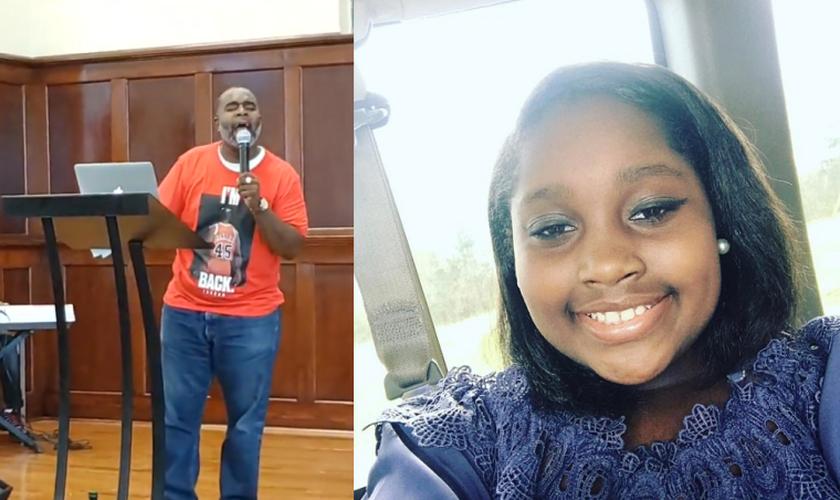 O pastor Eugene Leonard Jr. louvou a Deus mesmo depois de perder a filha, Ramiah Leonard, em um acidente de carro. (Foto: Facebook/Eugene Leonard Jr.)