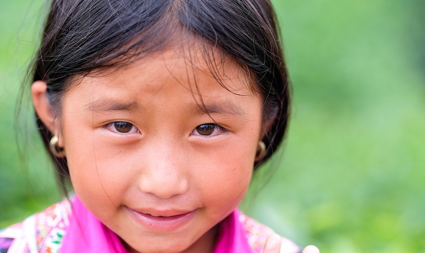 Imagem ilustrativa de menina vietnamita. (Foto: Max Pixel/Creative Commons)