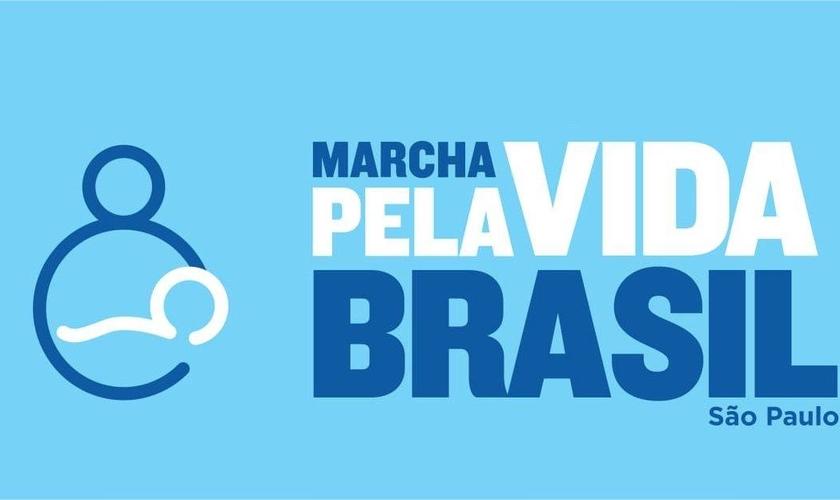 Baner de divulgação da Marcha pela Vida São Paulo. (Reprodução/Marcha pela Vida)