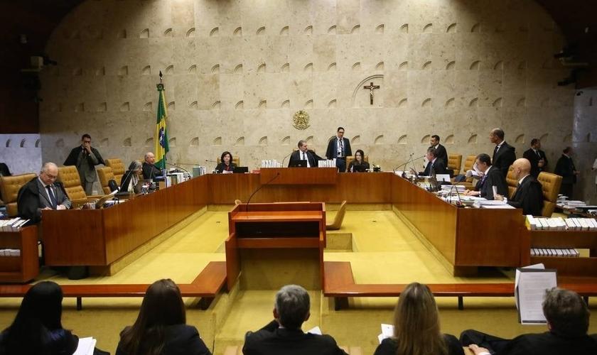 Plenário do Supremo Tribunal Federal, durante sessão. (Foto: Ailton de Freitas / Agência O Globo)