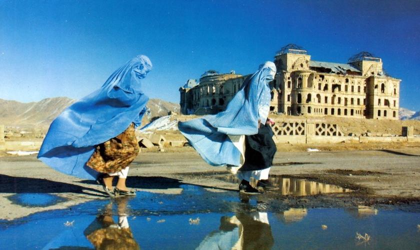 Mulheres do Afeganistão. (Foto: Reprodução/Flickr)