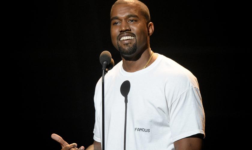 Kanye West se apresenta no MTV Video Music Awards de 2016, em Nova York. (Foto: Jeff Kravitz/FilmMagic)