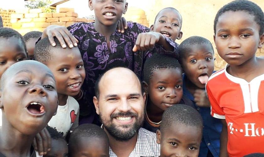 Missionário Saulo Porto, diretor de ensino da Missão Mãos Estendidas. (Foto: Arquivo pessoal)