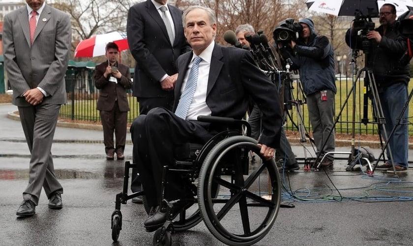 O governador do Texas Greg Abbott. (Foto: Alex Wong/Getty)