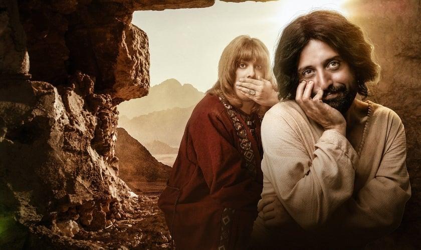"""O filme """"Especial de Natal Porta dos Fundos - A Primeira Tentação de Cristo' está disponível na Netflix, enquanto há uma petição com mais de 2 milhões de assinaturas para retirada do conteúdo. (Imagem: Veja São Paulo)"""