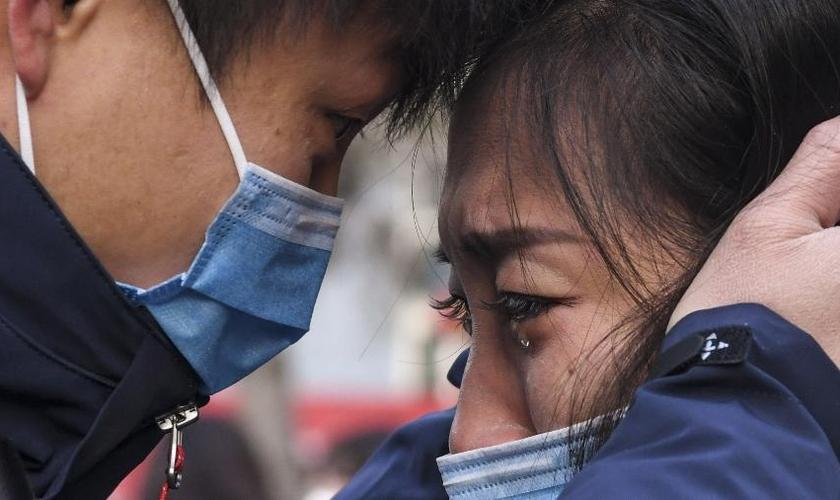 Cerca de 11 milhões de cidades estão em quarentena; 132 mortes foram confirmadas. (Foto: Xinhua/Wang Fei)