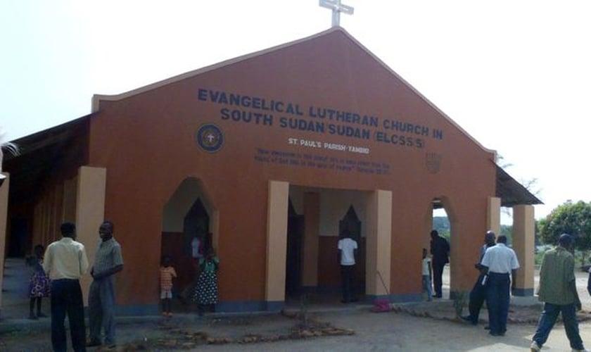 Igreja Luterana no Sudão do Sul é um das que sofreram ataque dos islamitas. (Foto: Reprodução/ELCSS/CC0)