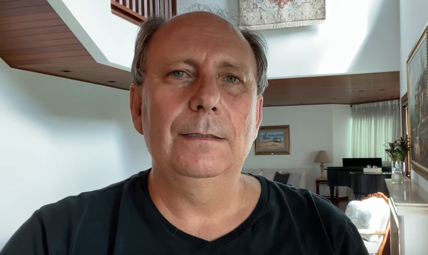 O pastor Lamartine Posella falou sobre o coronavírus sob a perspectiva bíblica do fim dos tempos. (Foto: YouTube/Lamartine Posella)