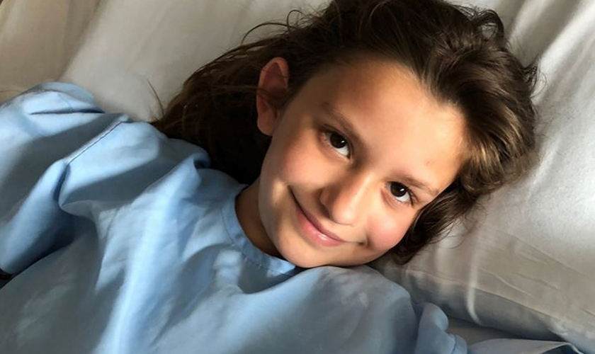 Annie Powell sobreviveu a um afogamento aos 9 anos. (Foto: Reprodução/AG News)