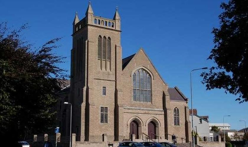 Igreja Presbiteriana de Hamilton Road, na Irlanda do Norte. (Foto: Reprodução / Albert Bridge)