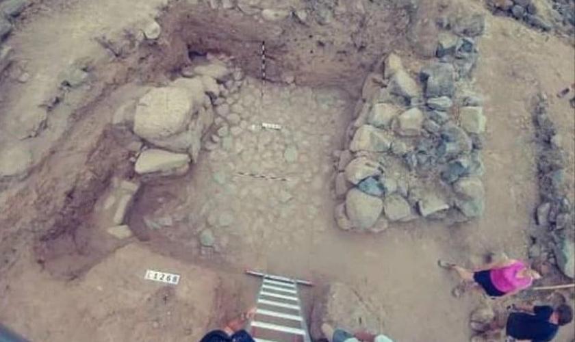 Há muitas evidências de que já foi uma vila antiga. (Foto: Pen News / Bethsaida Excavations Project)