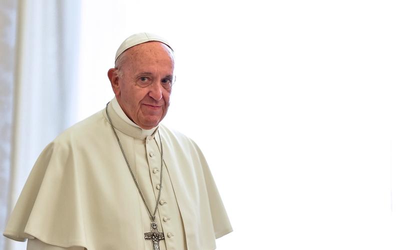 Papa Francisco no Vaticano, em 9 de outubro de 2017. (Foto: Andreas Solaro/AFP/Getty Images)